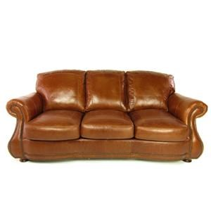 NORTH AMERICAN LEATHER North American Leather Collection Leather Sofa