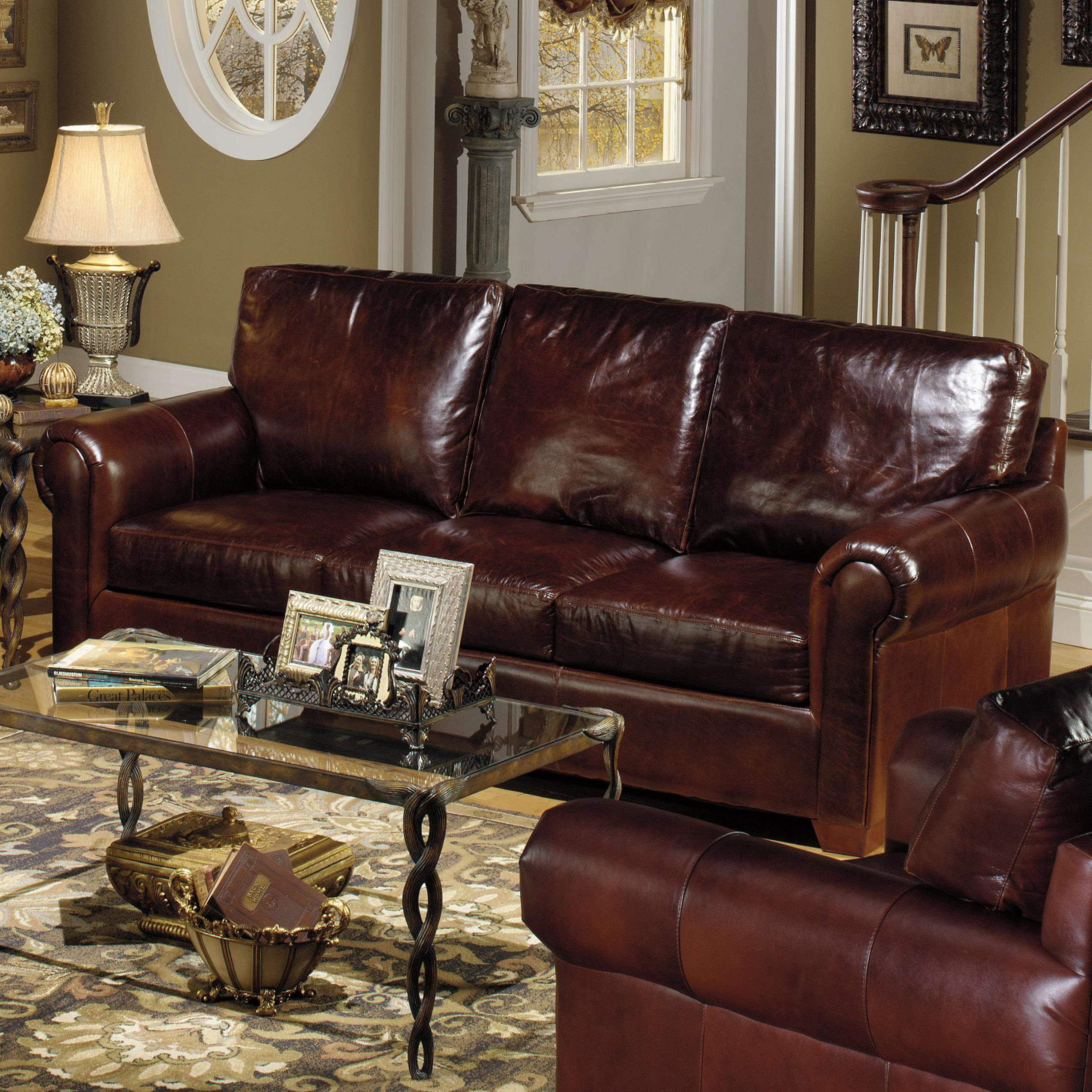 Super Usa Premium Leather 8955 Leather Stationary Sofa Ocoug Best Dining Table And Chair Ideas Images Ocougorg