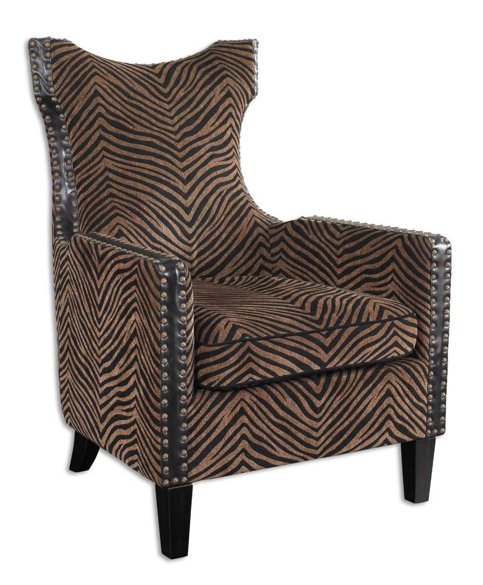 Uttermost Accent Furniture Kimoni Armchair - Item Number: 23003