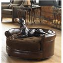 Uttermost Accent Furniture Lucky Round Pet Bed Dog Couch