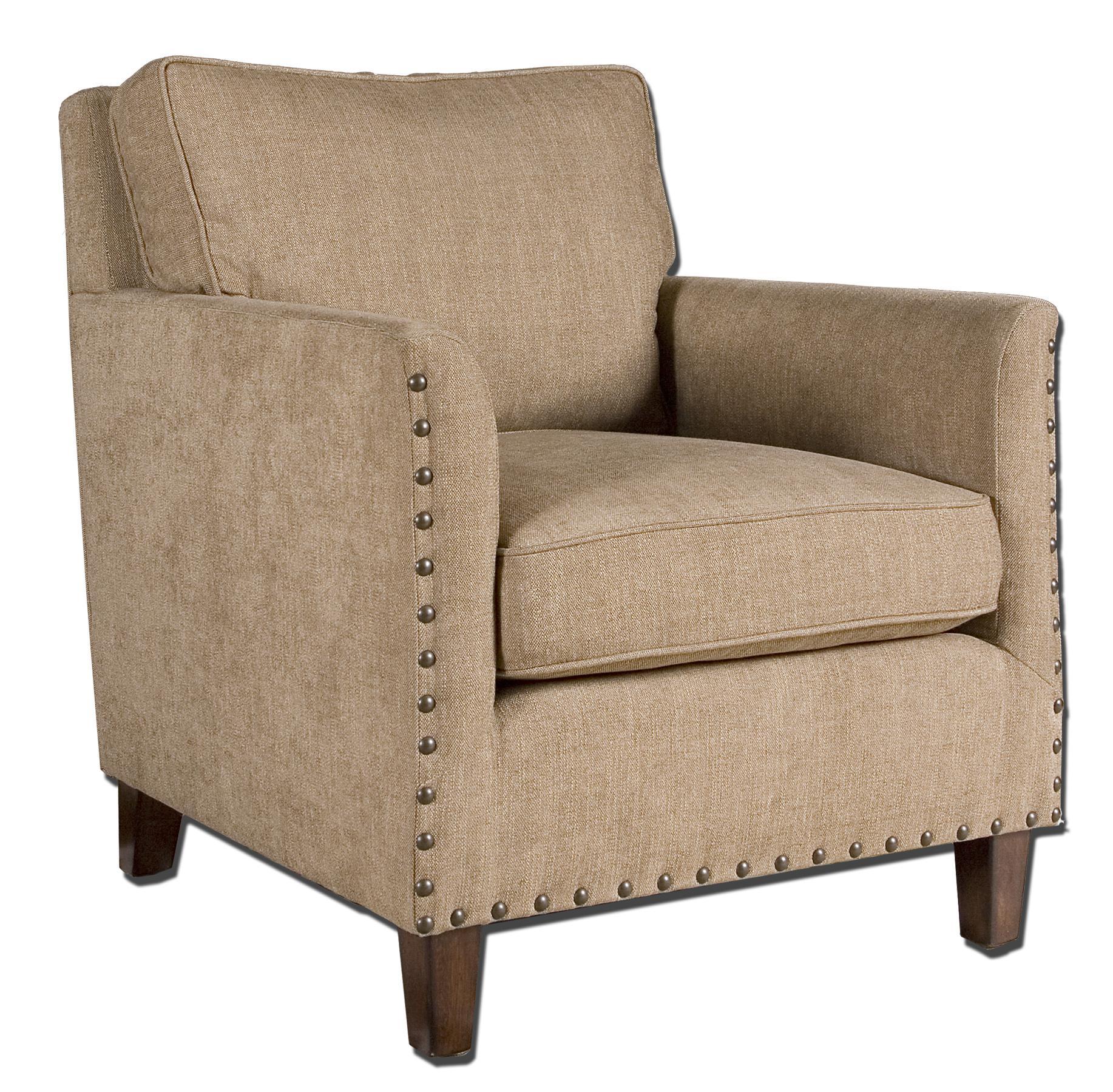 Uttermost Accent Furniture Keturah Armchair - Item Number: 23066