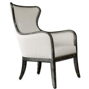 Uttermost Accent Furniture Sandy Wing Chair