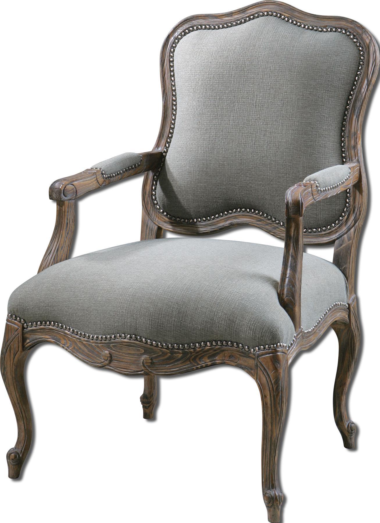 Uttermost Accent Furniture Willa Armchair - Item Number: 23095