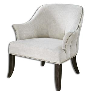 Leisa White ArmChair