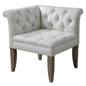 Uttermost Accent Furniture Tahtesa Corner Chair