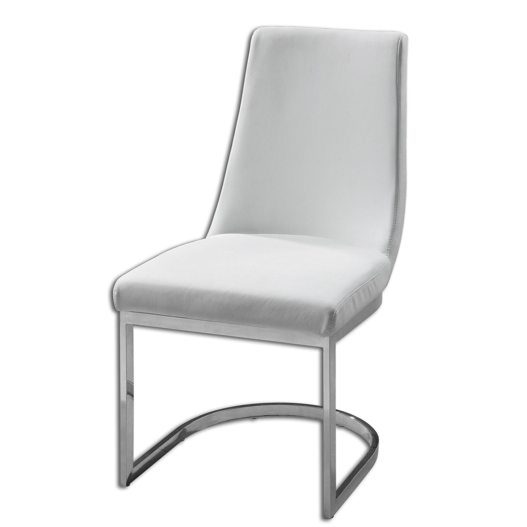 Uttermost Accent Furniture Xantina White Accent Chair - Item Number: 23141