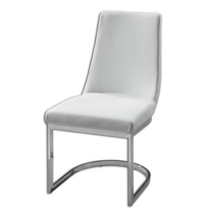 Uttermost Accent Furniture Xantina White Accent Chair