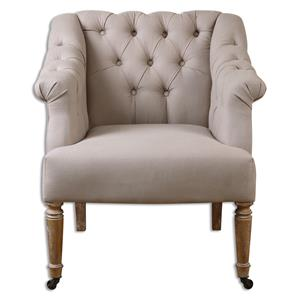 Uttermost Accent Furniture Khaldun Tufted Armchair