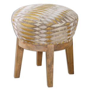 Uttermost Accent Furniture Hendrik Fabric Swivel Stool