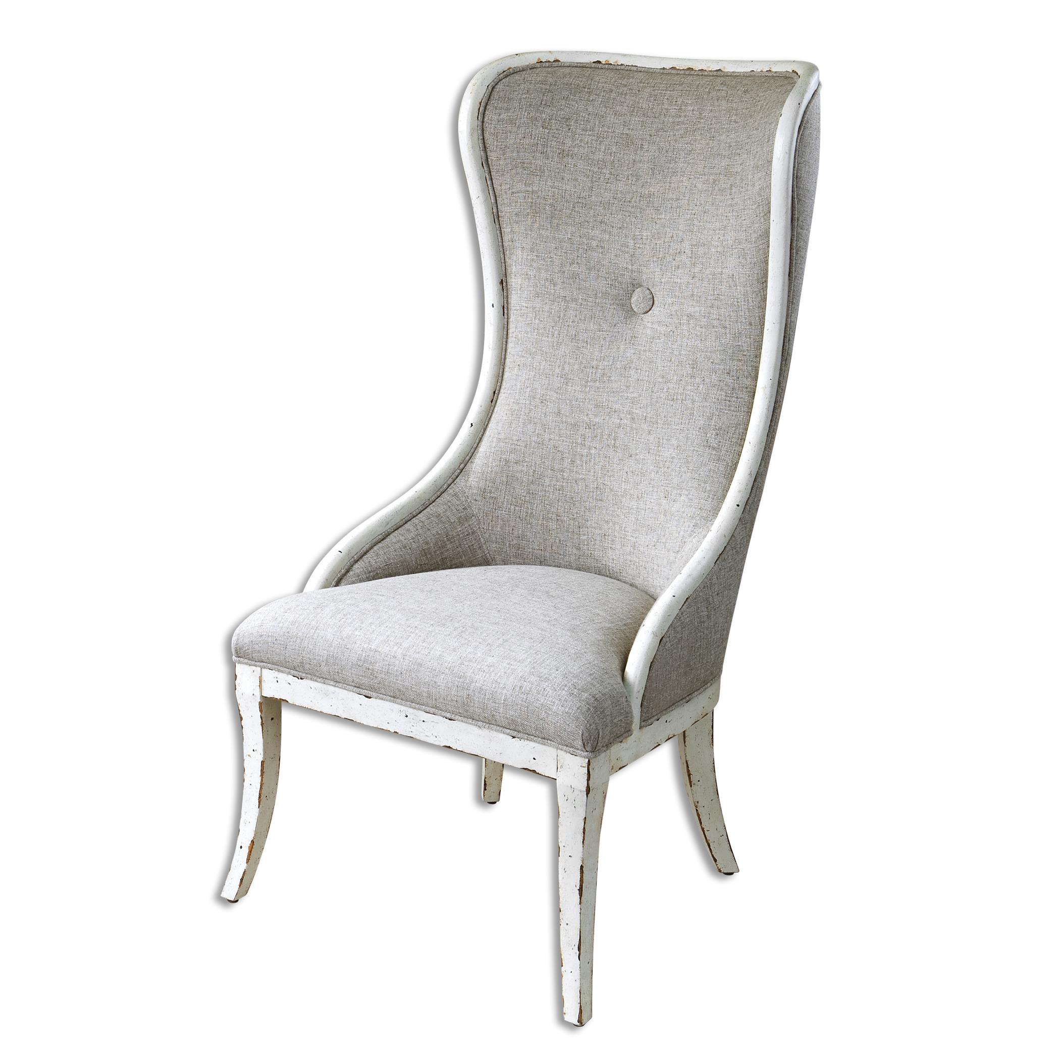 Uttermost Accent Furniture Selam Aged Wing Chair - Item Number: 23218