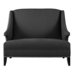 Uttermost Accent Furniture Honesta High Back Loveseat