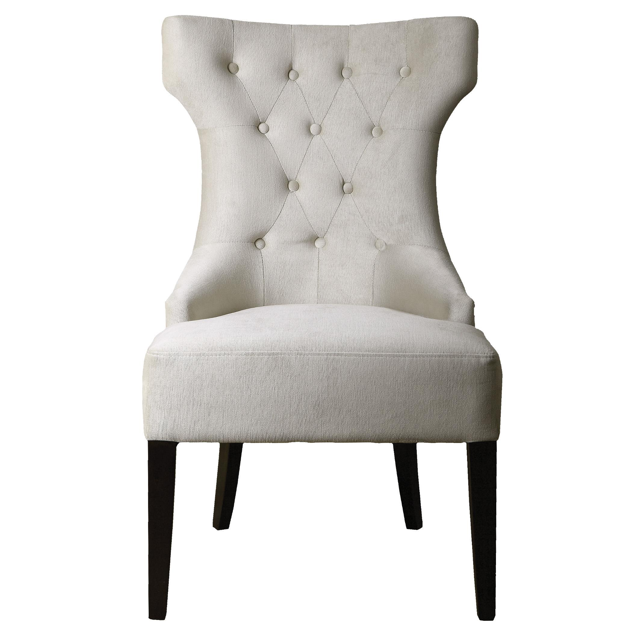 Uttermost Accent Furniture Arlette Tufted Wing Chair - Item Number: 23239