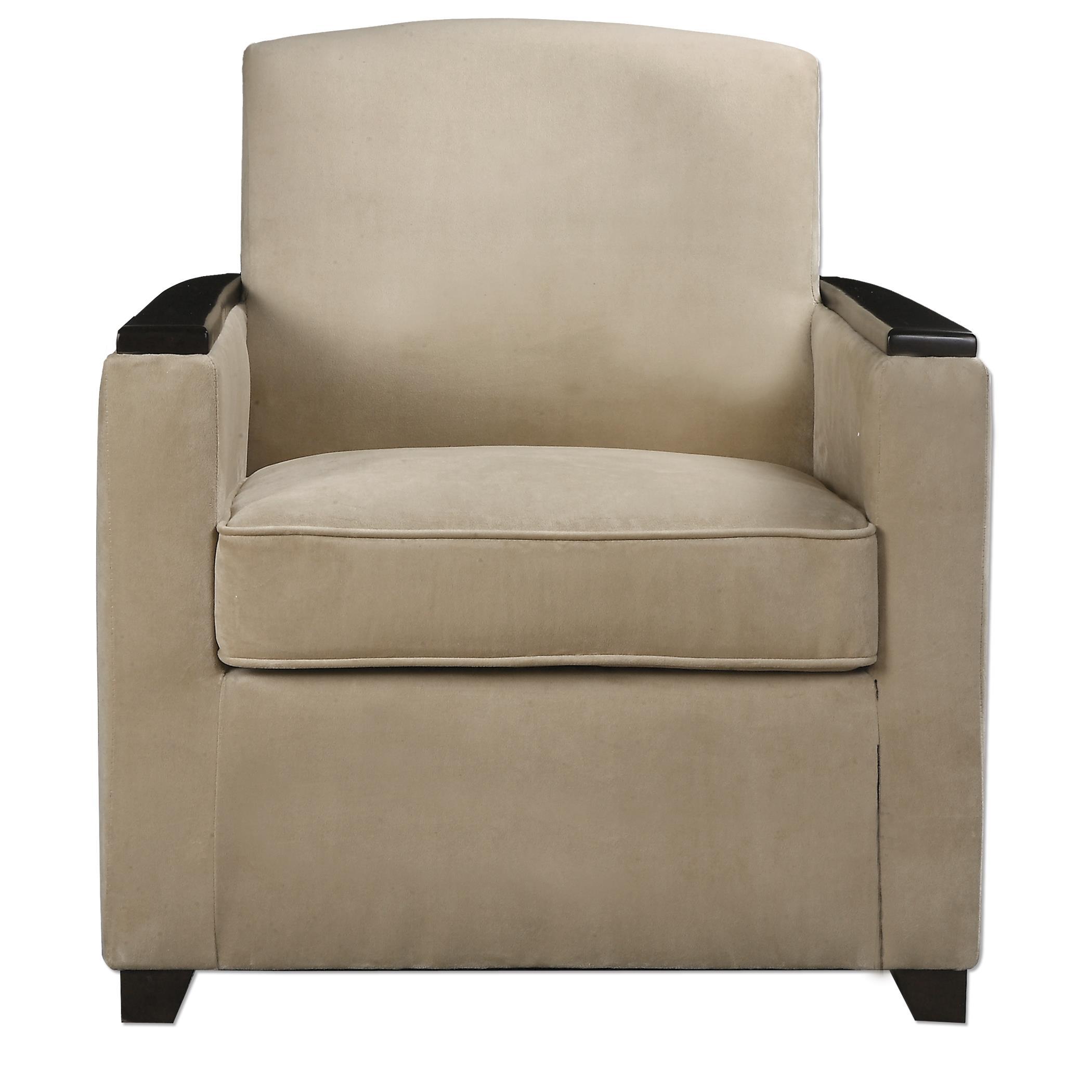 Uttermost Accent Furniture Kempton Modern Armchair - Item Number: 23243