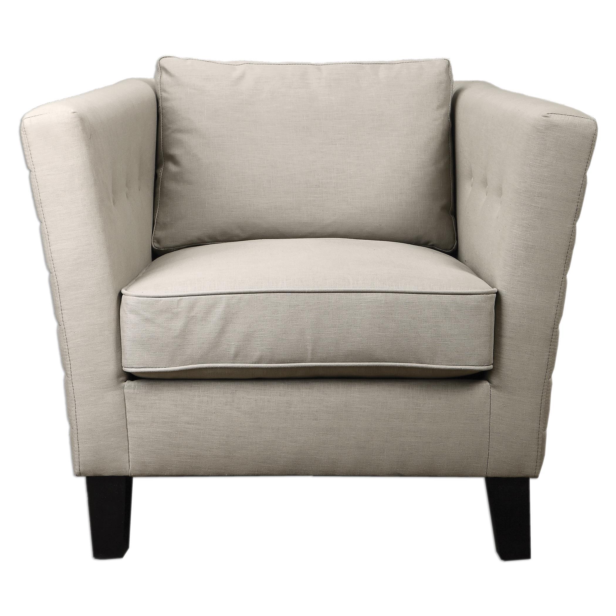 Uttermost Accent Furniture Izaak Modern Armchair - Item Number: 23250