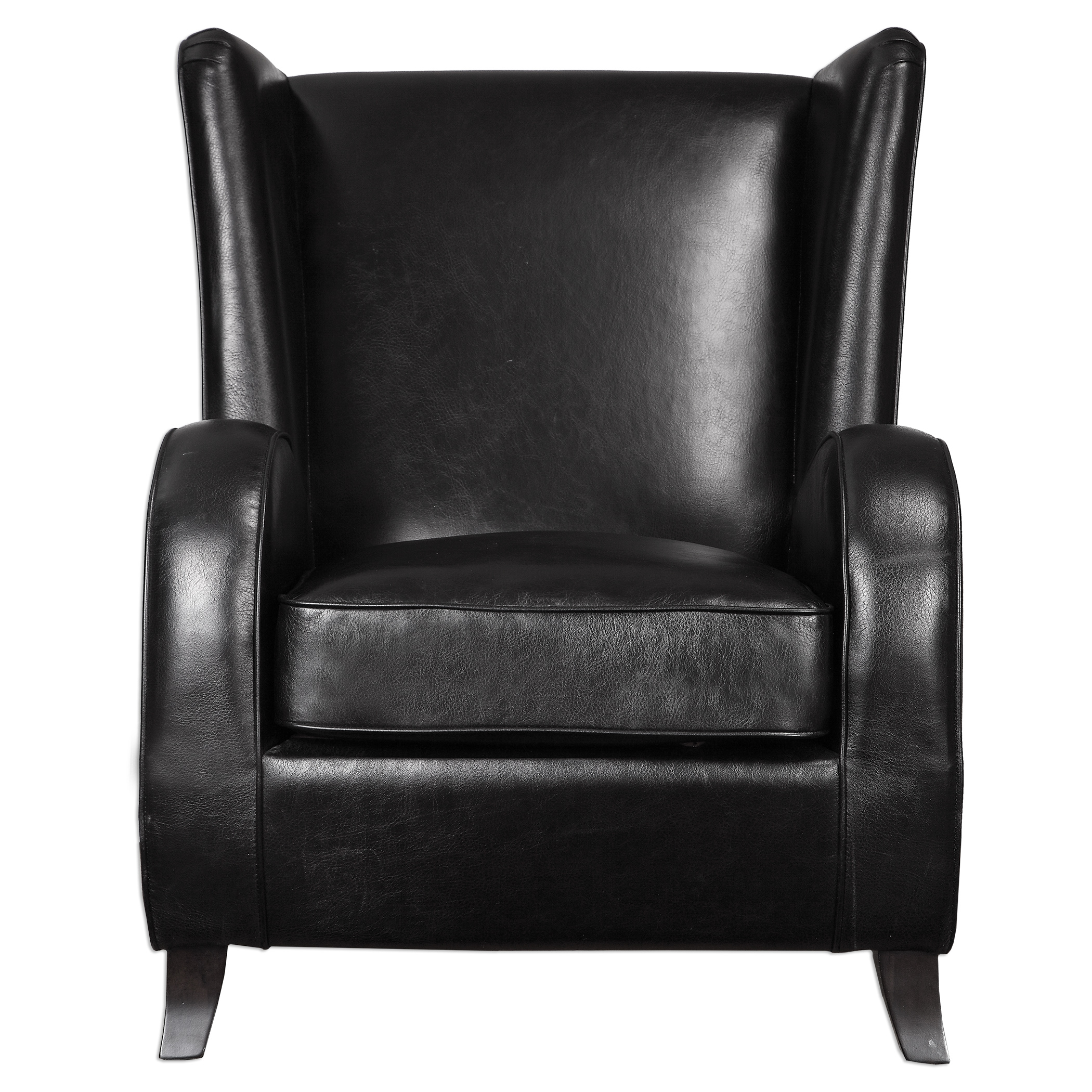 Uttermost Accent Furniture Lane Black Accent Chair - Item Number: 23252