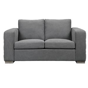 Uttermost Accent Furniture Inari Stonewashed Gray Loveseat