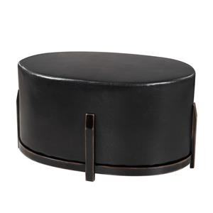 Uttermost Accent Furniture Desta Espresso Brown Ottoman