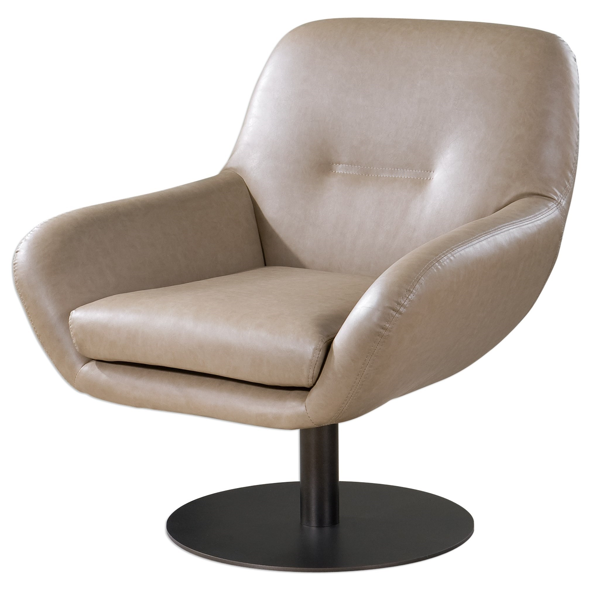 Uttermost Accent Furniture Scotlyn Swivel Chair - Item Number: 23266