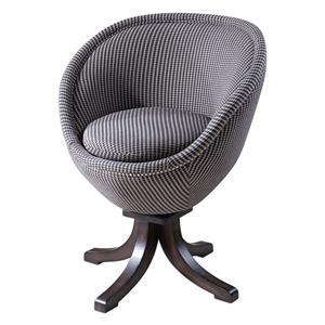 Uttermost Accent Furniture Rufar Retro Accent Chair