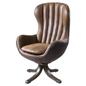 Uttermost Accent Furniture Garrett Mid-century Swivel Chair