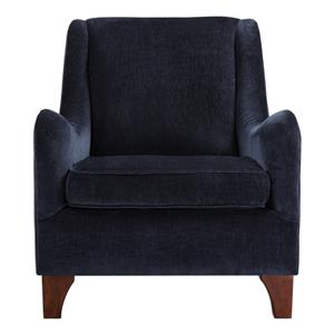 Uttermost Accent Furniture Ferris Midnight Blue Armchair