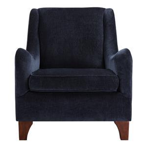 Uttermost Accent Furniture Ferris Midnight Blue Armchair