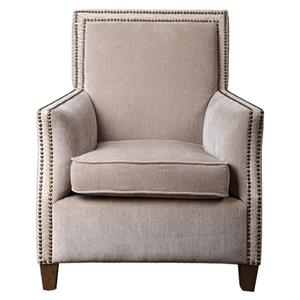 Uttermost Accent Furniture Darick Oatmeal Armchair