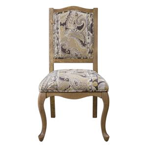 Uttermost Accent Furniture Kerianne Gray Wash Accent Chair
