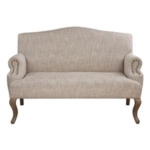 Uttermost Accent Furniture Rigina Soft Tan Loveseat