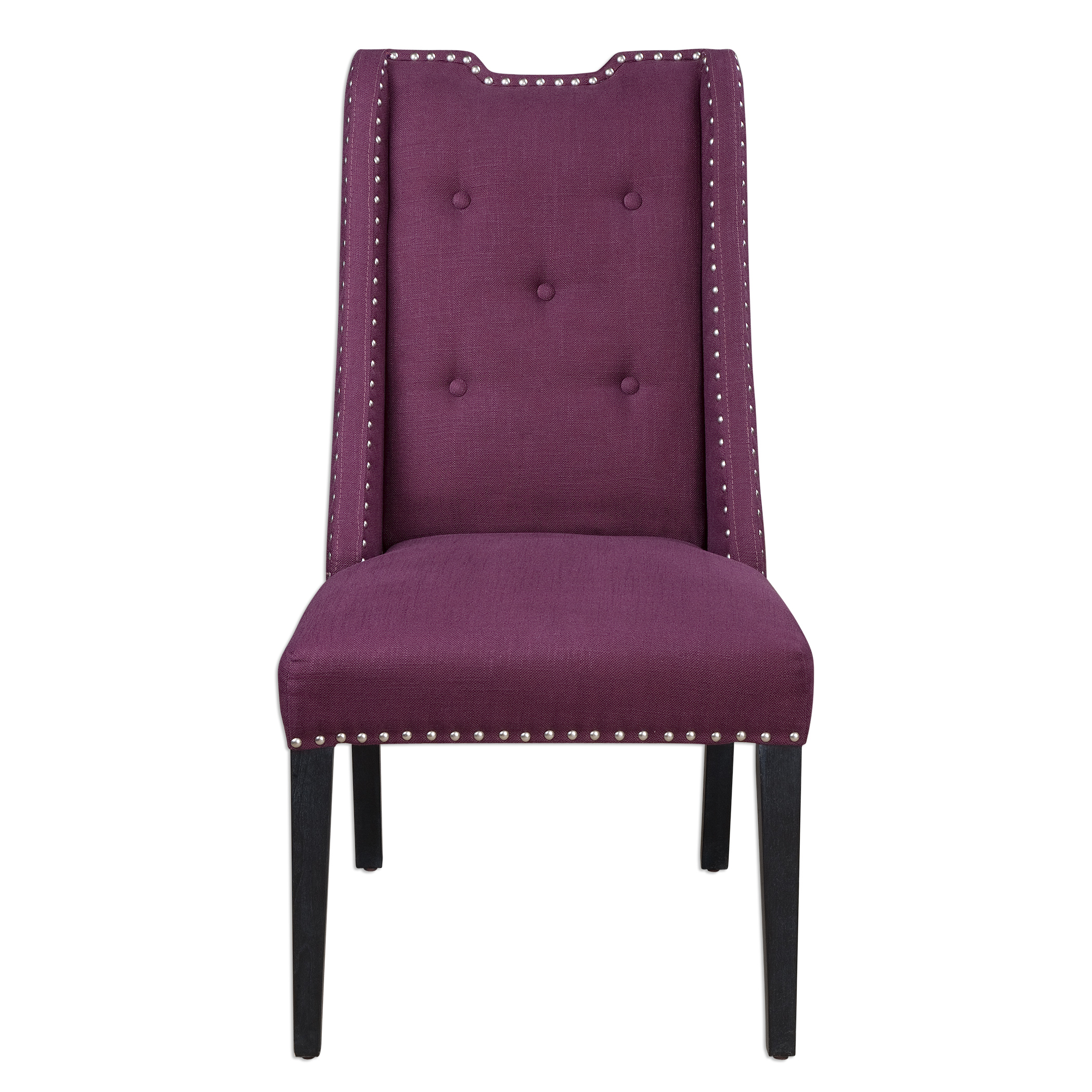 Uttermost Accent Furniture Pippa Purple Accent Chair - Item Number: 23292