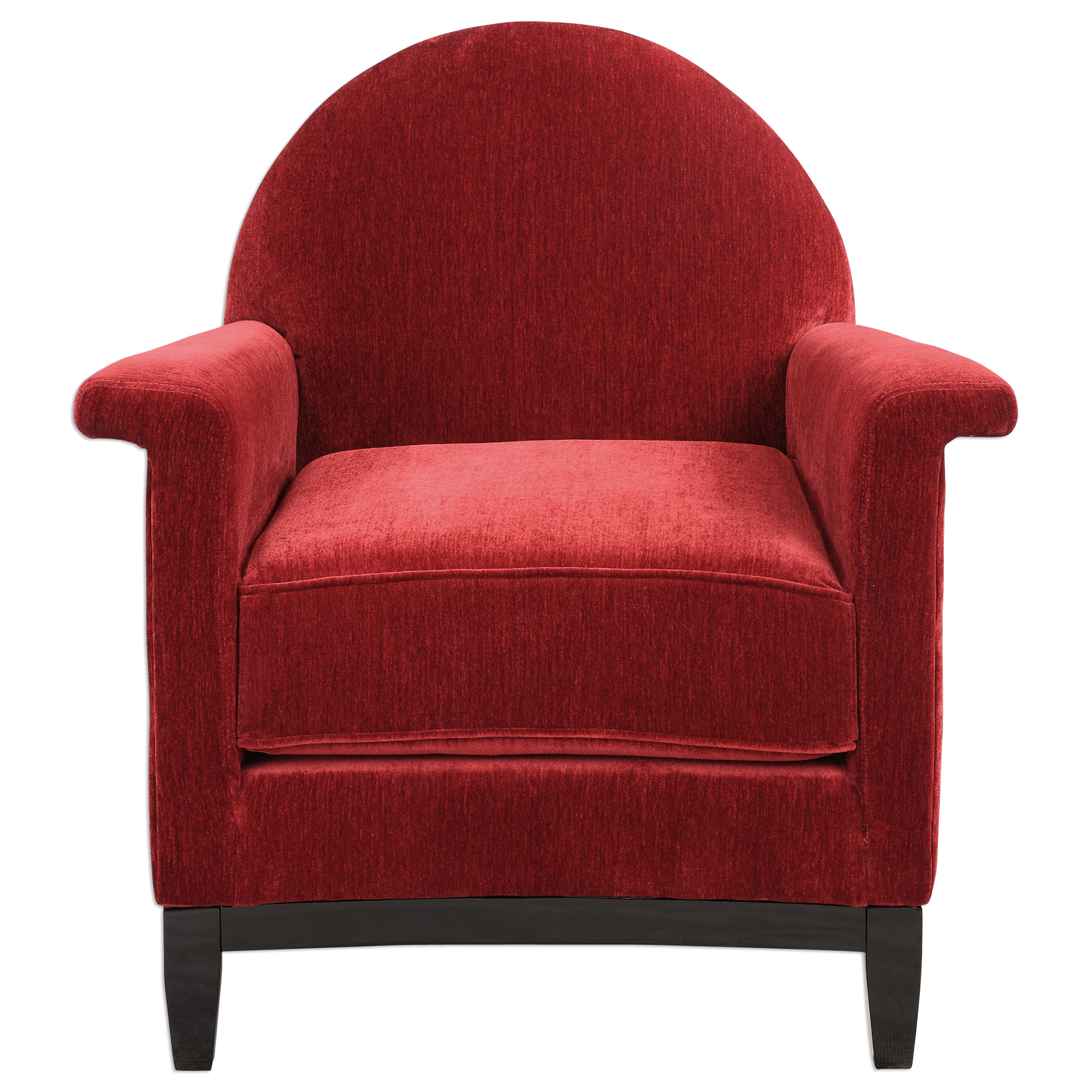 Uttermost Accent Furniture Sheelah Cherry Red Accent Chair - Item Number: 23299