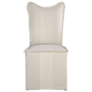Uttermost Accent Furniture Armless Chair