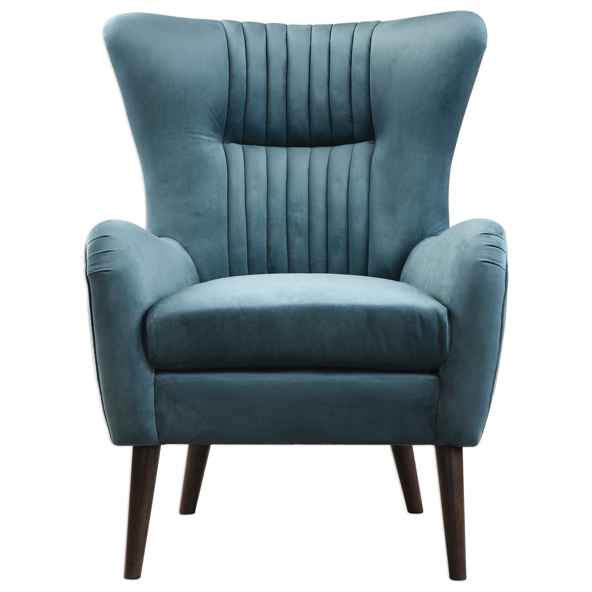 Accent Furniture - Accent Chairs Dax Mid-Century Accent Chair by Uttermost at Suburban Furniture
