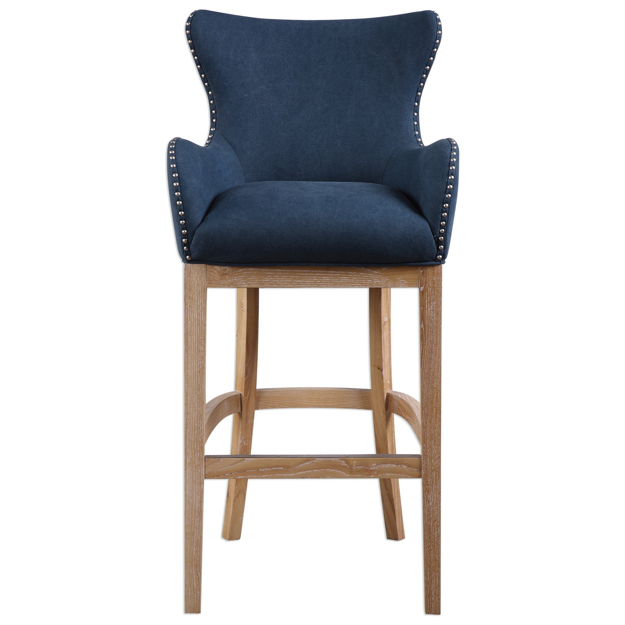 Uttermost Accent Furniture Barton Bar Stool - Item Number: 23317