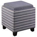 Uttermost Accent Furniture Lewis Storage Ottoman - Item Number: 23320