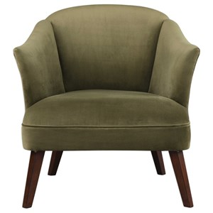 Uttermost Accent Furniture Conroy Olive Accent Chair