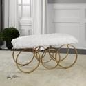 Uttermost Accent Furniture Blaine Bench