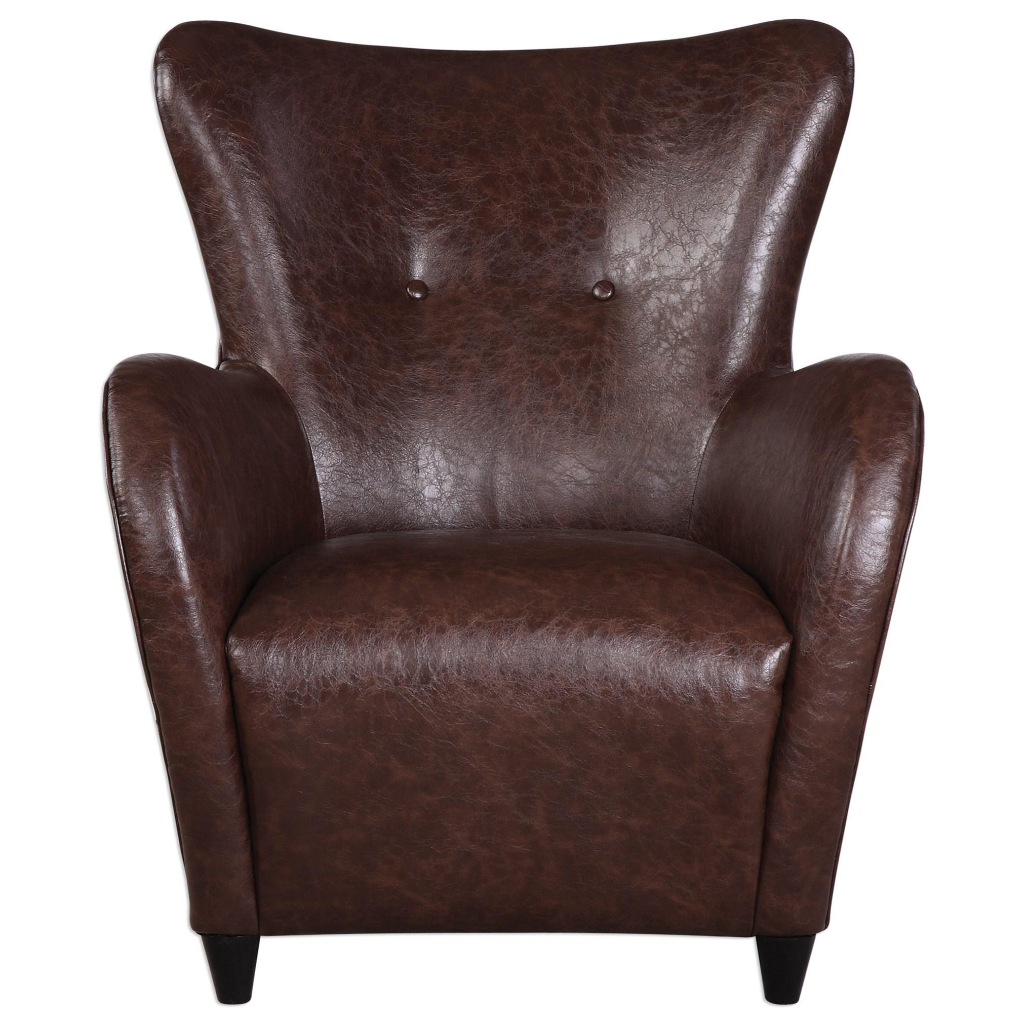 Uttermost Accent Furniture Lyric Accent Chair Dunk