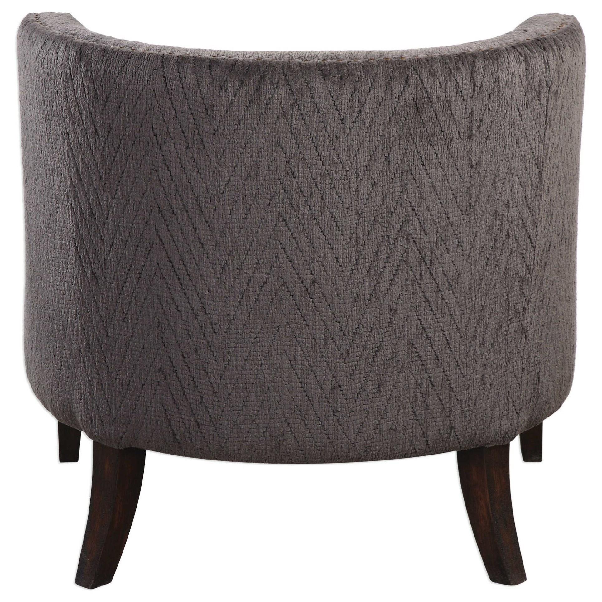 Uttermost Accent Furniture Suzuka Geometric Accent Chair