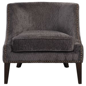 Uttermost Accent Furniture Suzuka Geometric Accent Chair