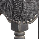 Uttermost Accent Furniture Aiden Brown Gray Bar Stool