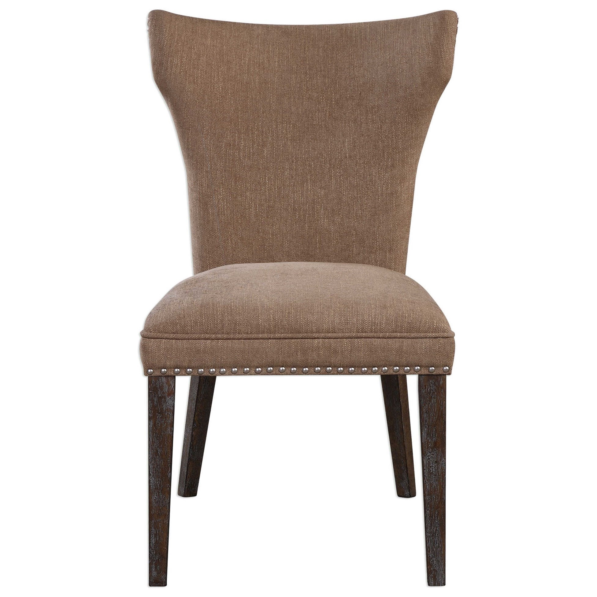 Uttermost Accent Furniture 23364 Aaronus Armless Chair Dunk Bright Furniture Upholstered