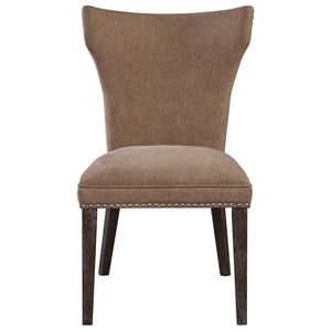 Uttermost Accent Furniture Aaronus Armless Chair