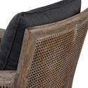Uttermost Accent Furniture Encore Dark Gray Armchair