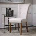 Uttermost Accent Furniture Lucasse Oatmeal Dining Chair