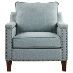 Uttermost Accent Furniture Charlotta Sea Mist Accent Chair