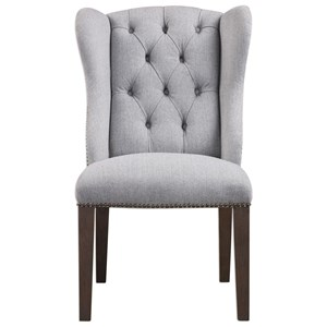 Uttermost Accent Furniture Jonna Wingback Accent Chair
