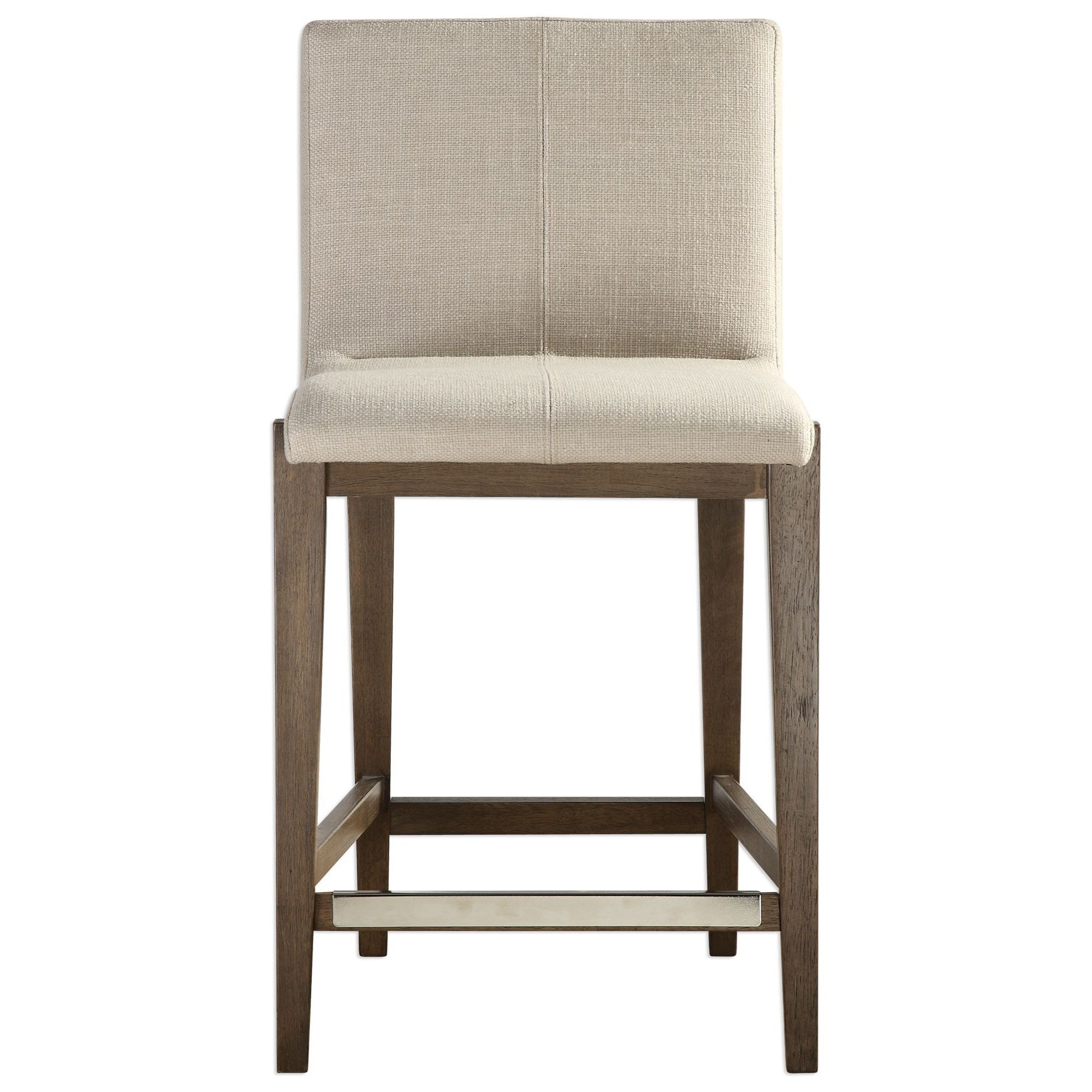 Uttermost Accent Furniture 23390 Klemens Linen Counter