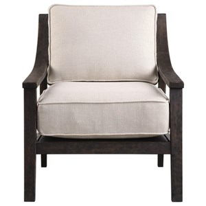 Uttermost Accent Furniture Lyle Beige Accent Chair