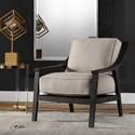 Uttermost Accent Furniture Lyle Beige Accent Chair